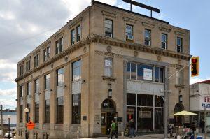 Kitchener Street Corner Building